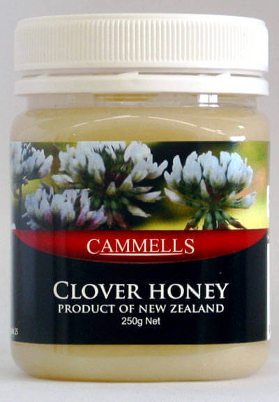 Creamed Clover Honey 250gm