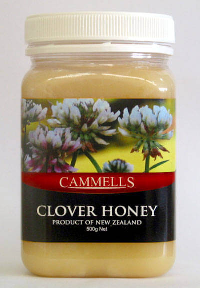 Creamed Clover Honey 500gm