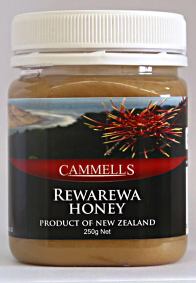 Rewarewa Honey 250gm