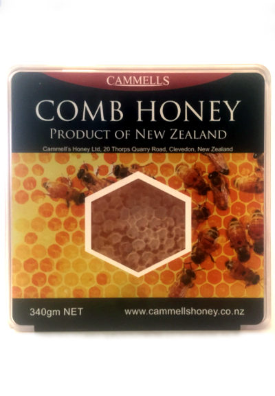 Cut Comb Honey 340gm