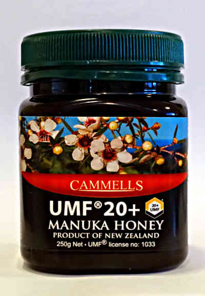 UMF® 20+ Manuka Honey 250gm