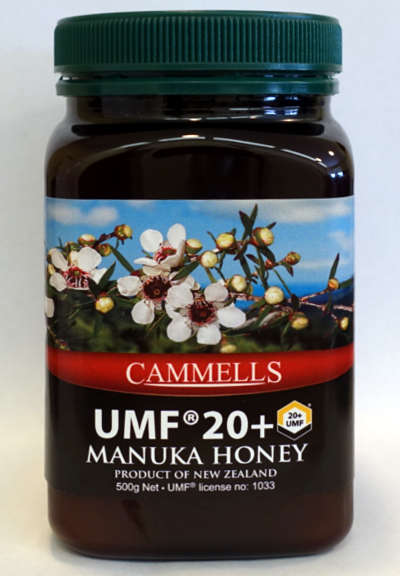 UMF® 20+ Manuka Honey 500gm