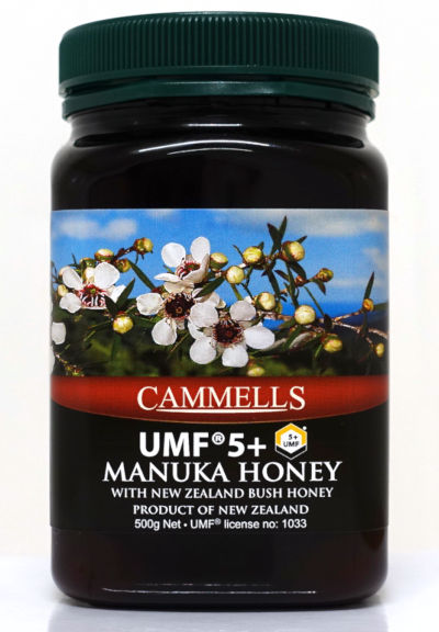 UMF® 5+ Manuka Honey 500gm